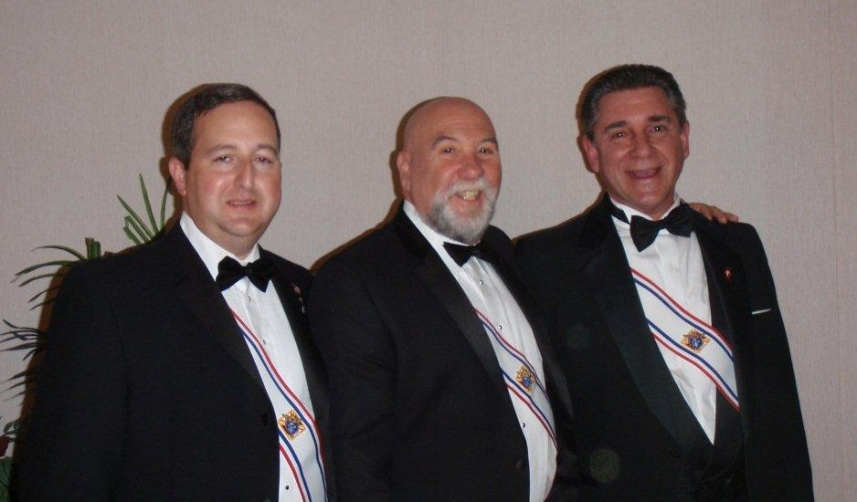 New Fourth Degree members, 2011